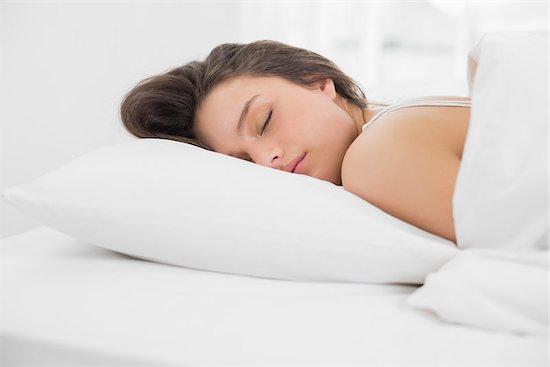 WomanSleepingSoundly