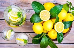agua, limon, cancer, nutricion